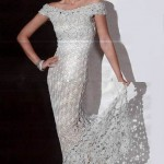 uzun abiye kolsuz elbise dizayn