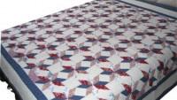 Kırkyama yatak örtüsü modelleri