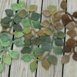 yaprak yaprak fular modeli