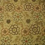 çiçek desenli döşemelik kumaş modeli