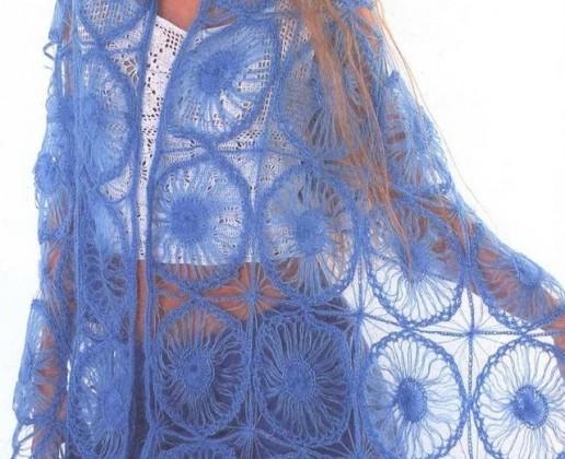 En güzel örgü şal modelleri 2012 yeni model örgü şal modeli