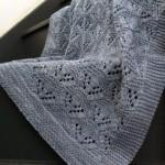 ajurlu örgü tekniği battaniye modeli