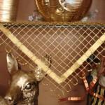 altın yaldız kurdeleli kasnak işi salon takımı