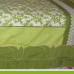 aplikeli yeşil pike takımı modeli