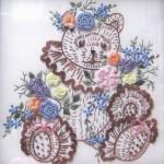 ayıcık desenli brezilya nakışı örneği