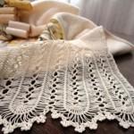 beyaz firkete havlu kenarı modeli