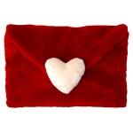 beyaz kalpli peluş zarf modeli
