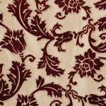 bordo osmanlı motifli döşemelik kumaş modeli