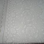 dantelli beyaz pike takımı modeli
