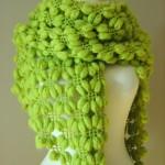 fıstık yeşili fıstıklı şal modeli