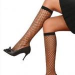 fileli diz altı çorap modeli