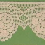 gül motifli kenar dantel modeli