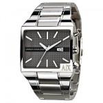 gümüş renkli damat saati modeli