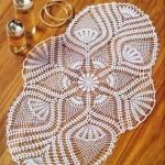 büyük çiçek motifli şömen tabla modeli