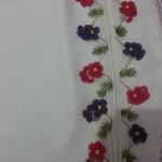 iğne oyası çiçek motifli modeller