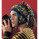 jakarlı örgü kulaklı erkek bere modeli
