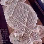 kabartmalı dantel şömen tabla modeli