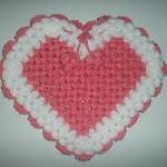 kalp şeklinde sabun bezi modeli