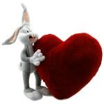 kalpli bugs bunny yastık modeli