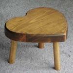 kalpli küçük tahta sandalya modeli