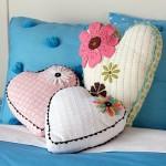 kalpli peluş yastık mdoelleri