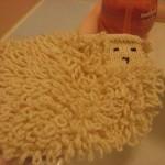 kuzucuk şeklinde sabun bezi modeli