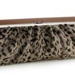 leopar desenli abiye çanta modeli