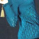 mavi ajurlu bayan kazak