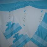 mavi aplike pike takımı modeli
