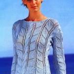 mavi merserize bayan kazak modeli