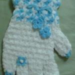 mavi yüzüklü eldiven lif modeli