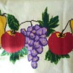 meyve desenli etamin örneği modeli