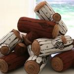 odun görünümlü uzun minder modelleri