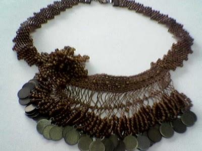 paralı firkete kolye modeli