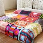 patcwork yatak örtüsü modeli