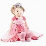 pembe elbiseli prenses bez beebk modeli