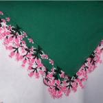pembe küçük çiçekli çember modeli
