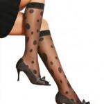 puanlı diz altı çorap modeli