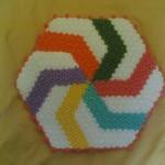 rengarenk çarkıfelek sabun bezi modeli