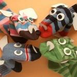 rengarenk çorap kukla örnekleri