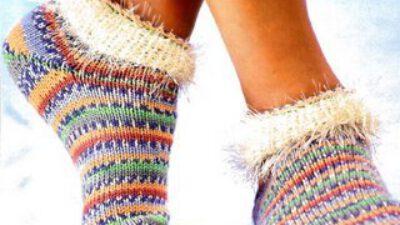 El Örgüsü Çorap Modelleri