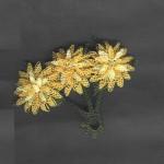 sarı çiçek yemeni oyası modeli
