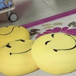 sarı bebek suratlı minder modelleri