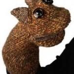 sincap figürlü örgü parmak kukla modeli