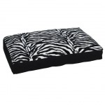 siyah beyaz zebra desenli uzun minder modeli