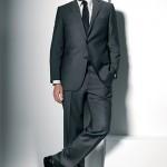 siyah damat takım elbisesi