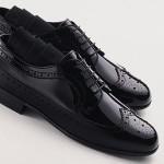 siyah kundura damat ayakkabısı
