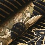 siyah renkli döşemelik kumaş modeli