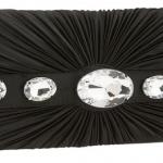taşlı siyah abiye çanta modeli
