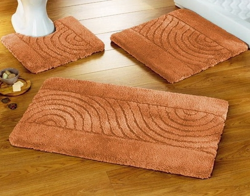 bathroom rug sets on